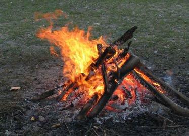 verbrennen auf eigenem grundstück
